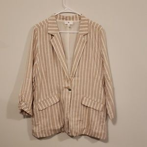 BP linen oversized blazer